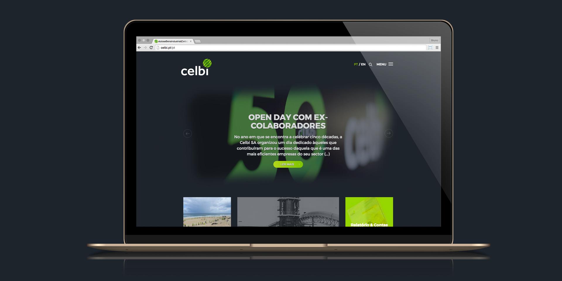 Website Celulose Beira Industrial (Celbi) S.A,